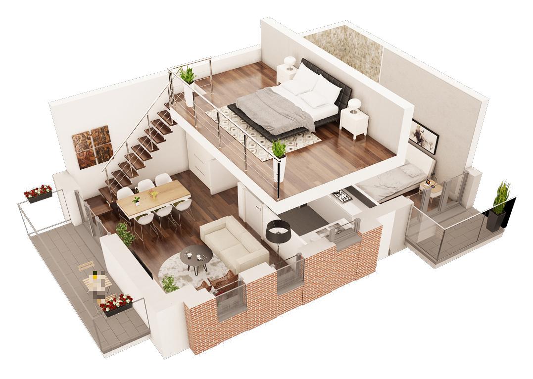 Karty lokali frame studio wizualizacje architektoniczne wn trz i animacje 3d planner