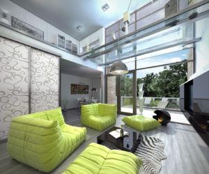 Wizualizacja wnętrz : apartament