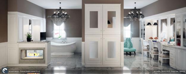 Salon kąpielowy i garderoba