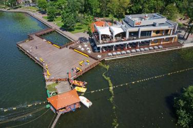 Zdjęcia z lotu ptaka - Ostróda Restauracja Lalo