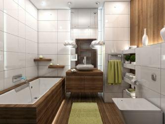 Projekt i wizualizacja łazienki