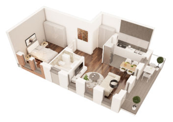 karta 3d mieszkania